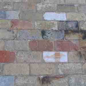 used bricks assortment mixed